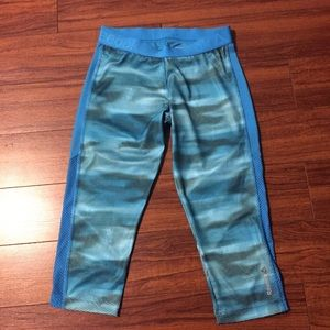 Reebok Capri Speedwick Workout Pants